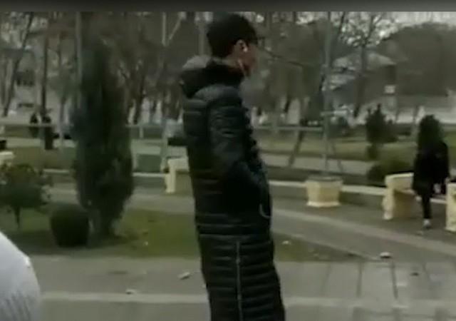 В Дагестане школьники пожарили курицу на Вечном огне