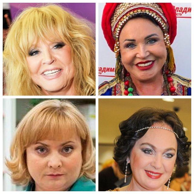Российские знаменитости, которые пугающе помолодели (10 фото)