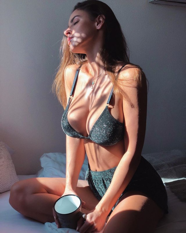 Люсия Яворчекова - знойная велосипедистка, бросившая спорт ради модельной карьеры (30 фото)