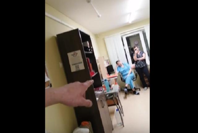 В Мурманске сын больного пациента, заснял на камеру, как выпивают медсестры