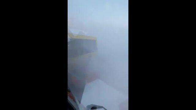 Снежный апокалипсис в Норильске (2 видео)