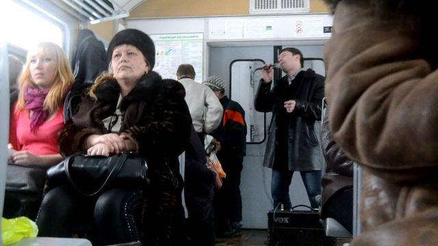 Минтранс РФ хочет высаживать из электричек поющих и плохо пахнущих пассажиров