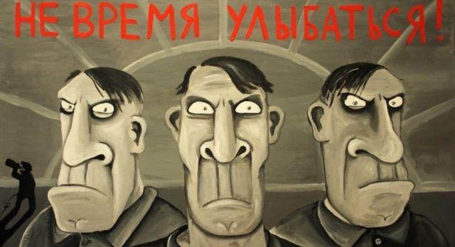 Художника-сатирика Васю Ложкина, чьи работы считали экстремистскими, выдвинули в Госдуму (5 фото)