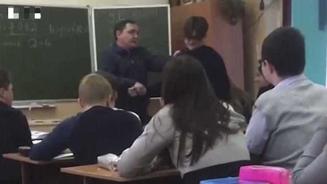 Десятиклассник из Калуги подрался с учителем