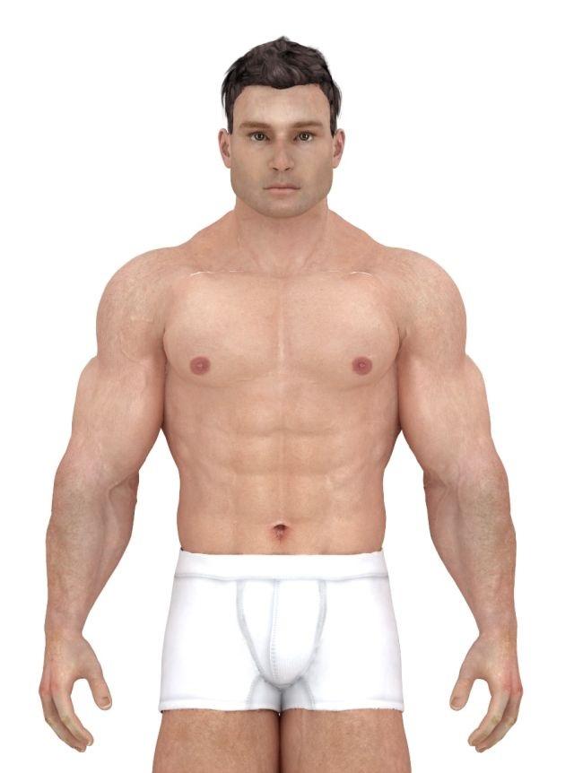 Как изменялись стандарты идеального мужского телосложения за последние 150 лет (10 фото)
