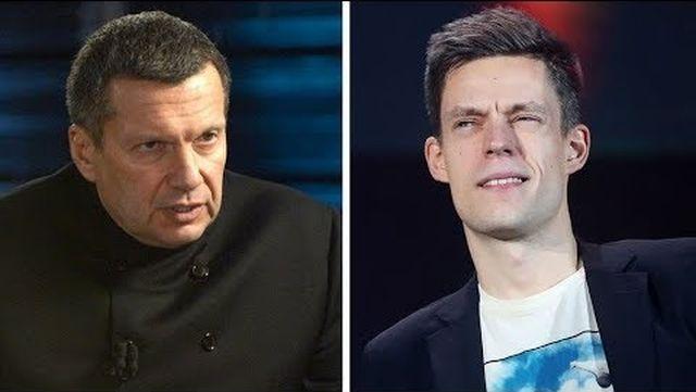 """""""Он пустой"""": Владимир Соловьев рассказал, почему он не пошел на интервью к Юрию Дудю"""