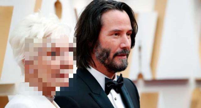 Угадайте с кем пришел Киану Ривз на церемонию Оскар? (8 фото + 2 видео)
