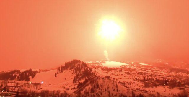 В Колорадо запустили самый большой в мире фейерверк