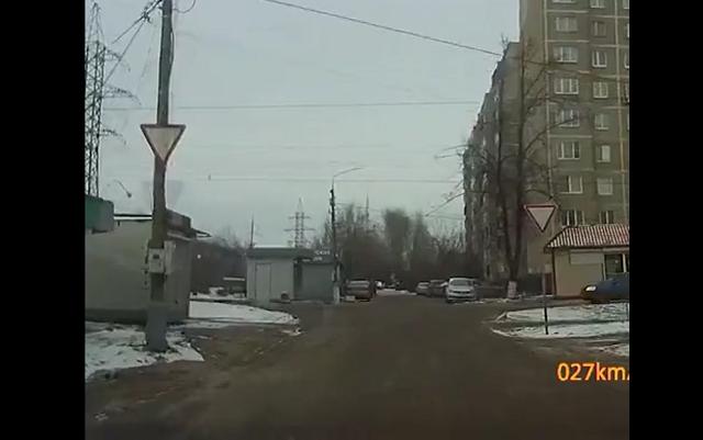 Видео взрыва на подстанции в Подольске