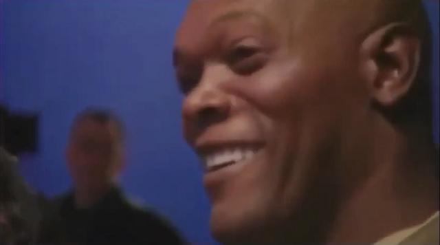 """""""Хочу фиолетовый"""": Сэмюэл Л. Джексон решает джедайский вопрос с Джорджем Лукасом"""