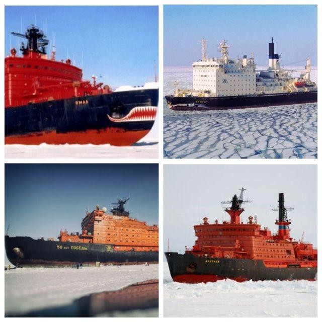 ТОП-5 самых больших ледоколов в мире (5 фото)