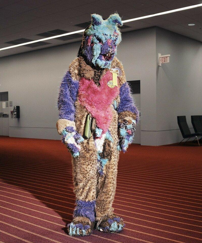 страшный костюм зайца
