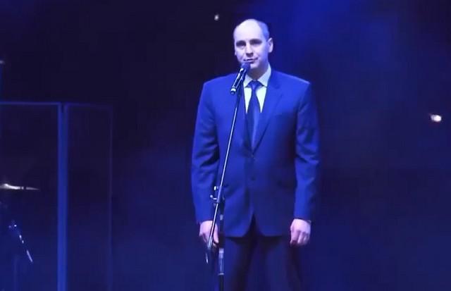 Денис Паслер на концерте