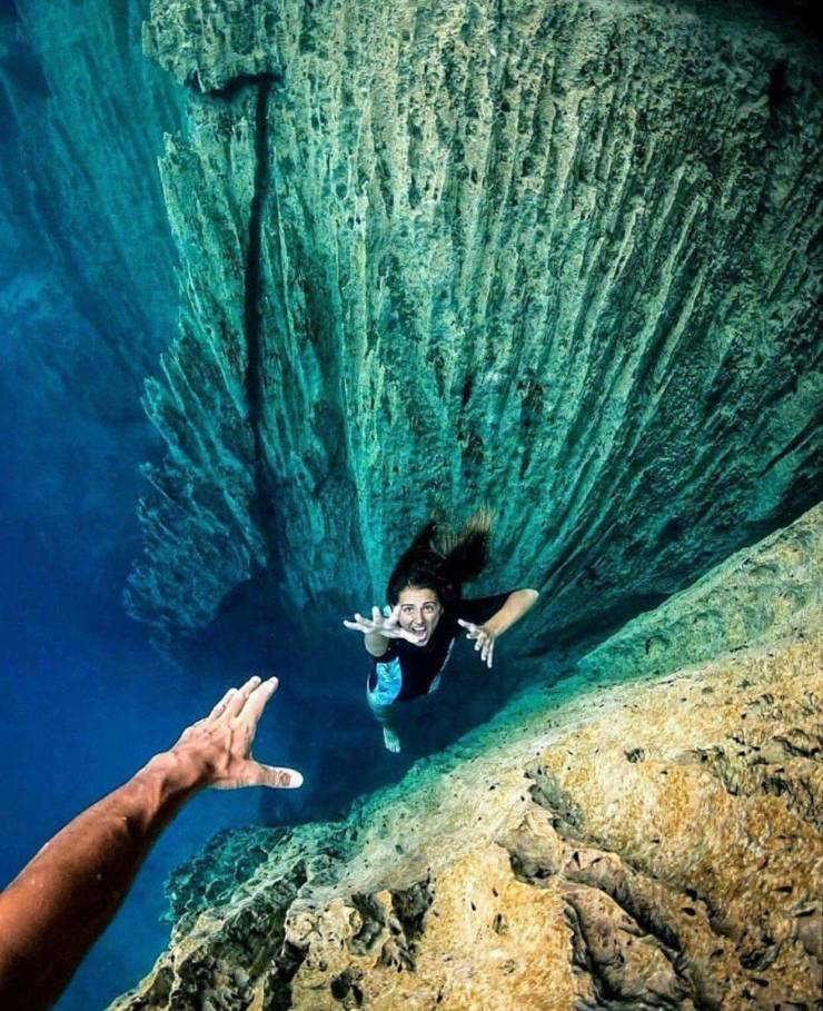 Креативная подводная фотография