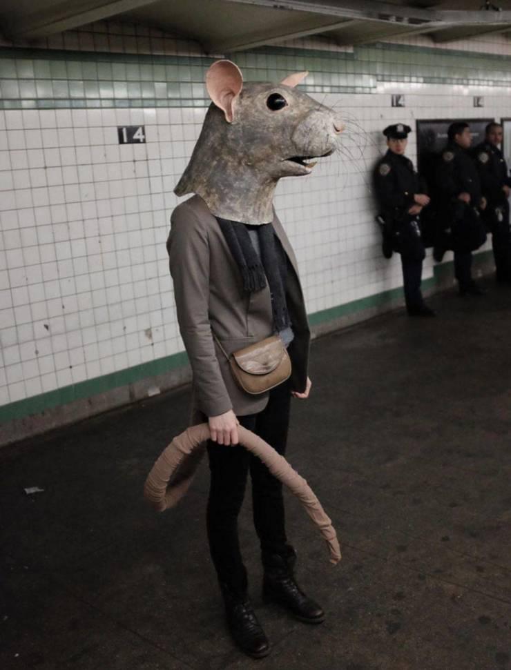 Косплей на мышь
