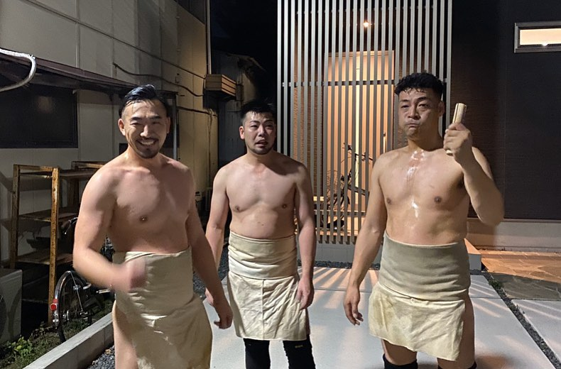 """A japánok a """"fundoshi"""" kötésben"""