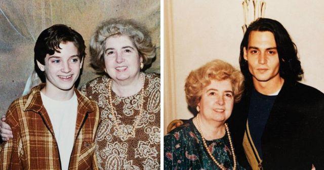 Фотографии с Джонни Деппом и Элайджа Вудом