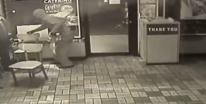 неудачная кража банкомата