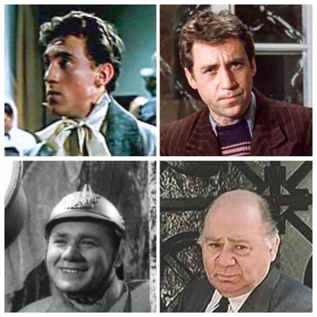 Как выглядели знаменитые советские актеры в своих первых ролях, часть вторая (9 фото)