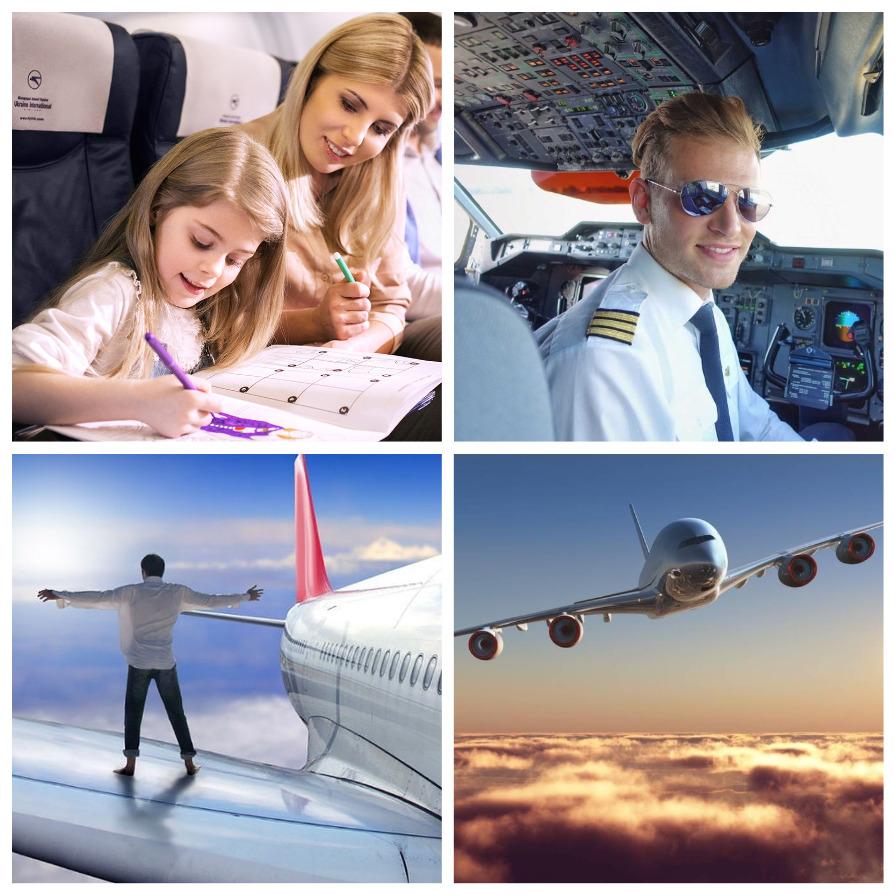 Как побороть страх полета? (11 фото)