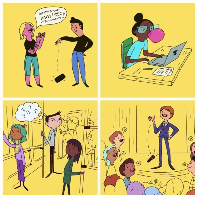 Неловкие ситуации в обществе