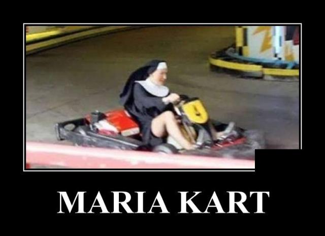 Демотиватор про монашек