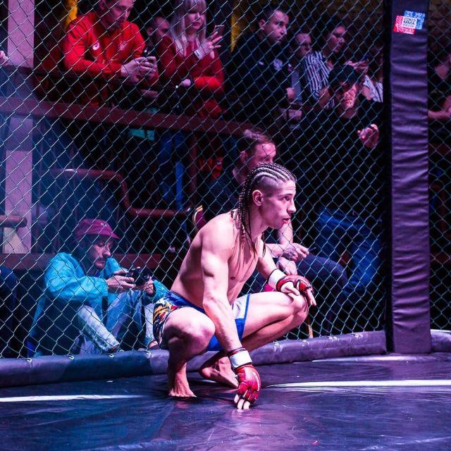 Боец MMA из Рязани Михаил Коробков
