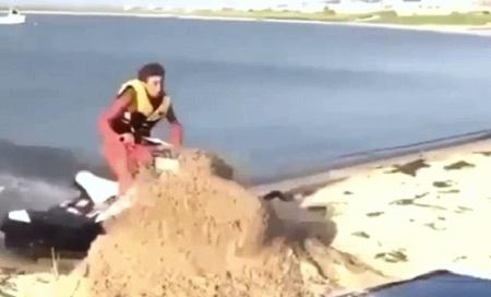 Превью авария на водном мотоцикле
