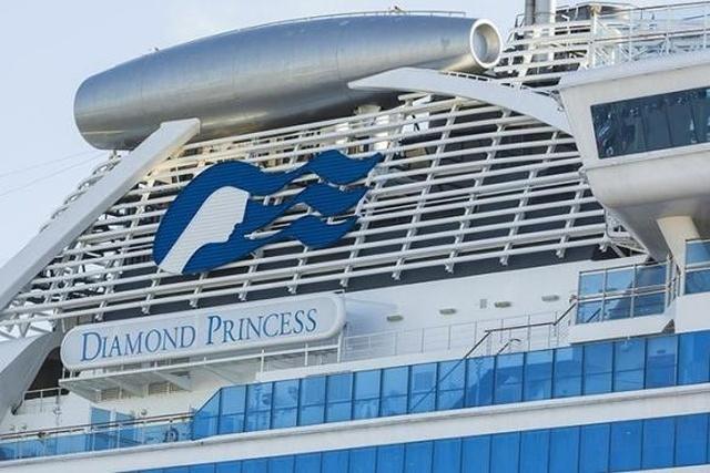 Коронавирус на борту круизного лайнера Diamond Princess