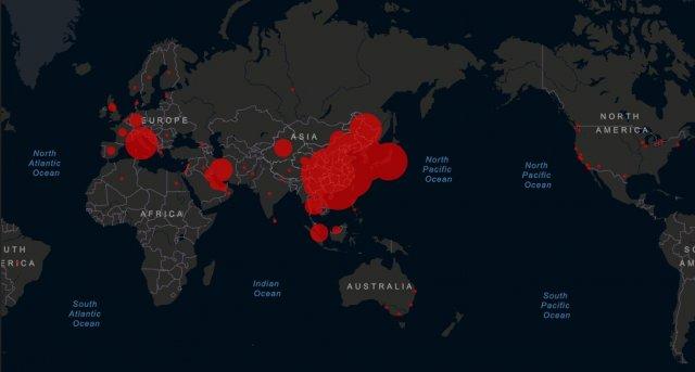 Коронавирус распространился по всем континентам, кроме Антарктиды (3 фото)