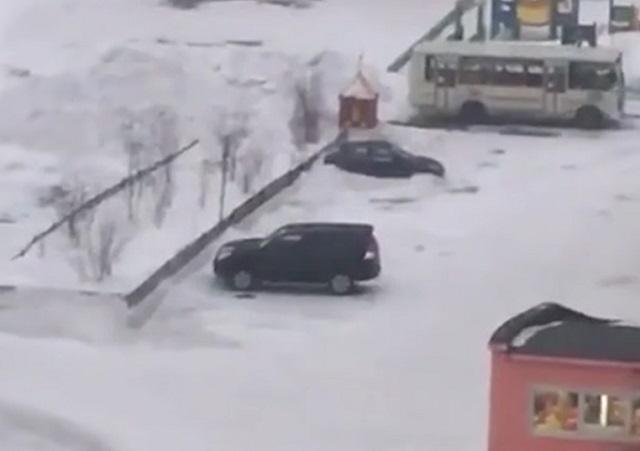 Ветер в Норильске