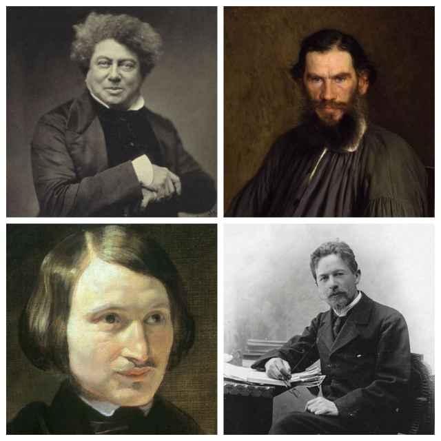 Великие писатели