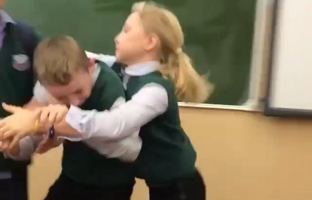 Драка в школе