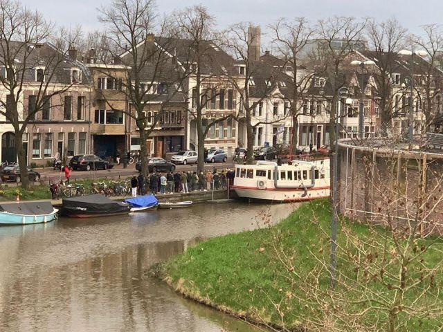 Очереди в Нидерландах