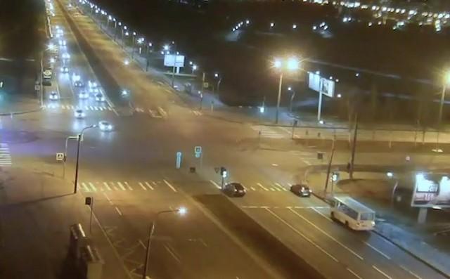 ДТП со скорой на перекрестке в Санкт-Петербурге