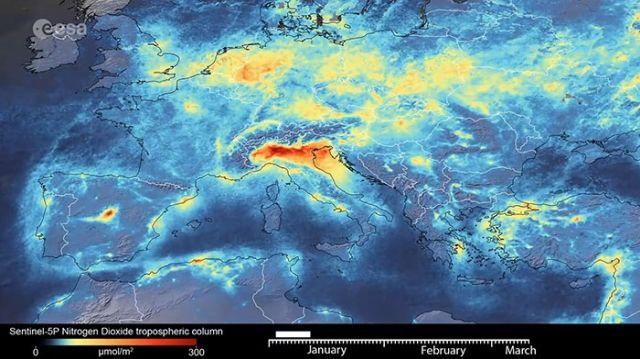 Загрязнение в Италии