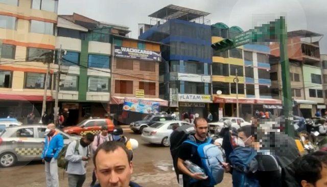 Русские туристы в Перу