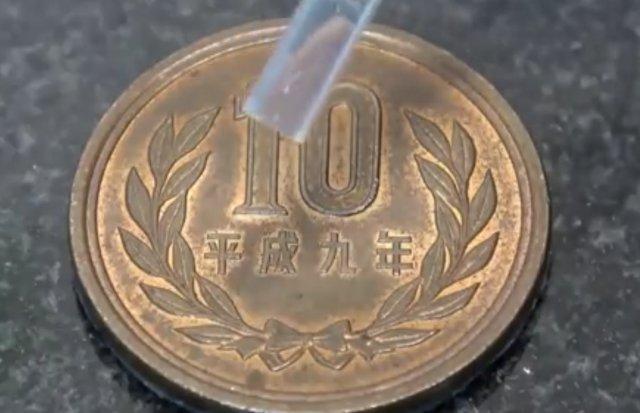 Полировка старой монеты