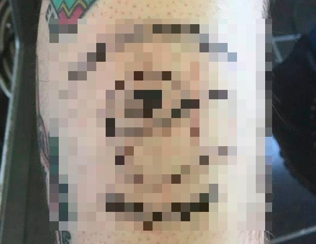 Татуировки про коронавирус