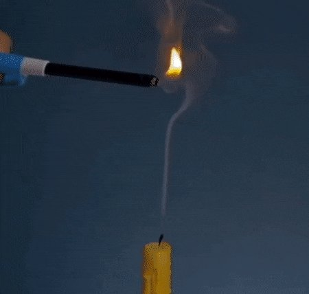 Превью зажечь свечу на расстоянии