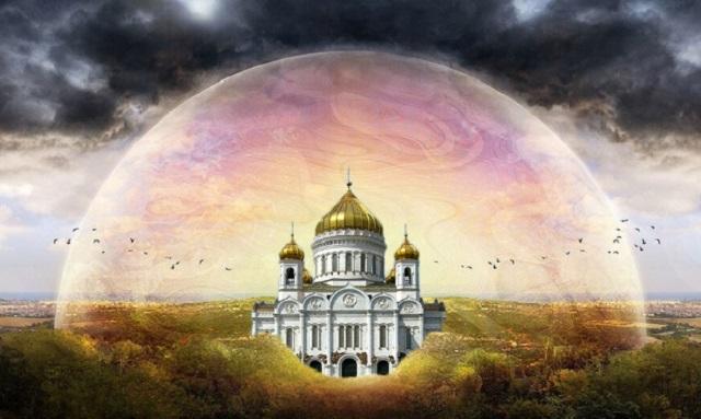 Купол над церковью