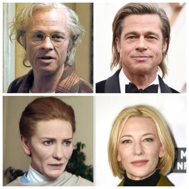 Актеры в гриме