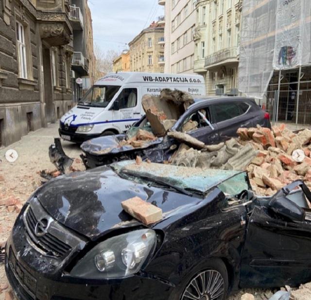 Землетрясение в Загребе