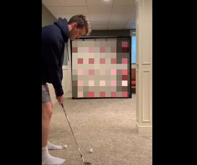 Мини-гольф дома