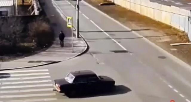 Водитель на перекрестке