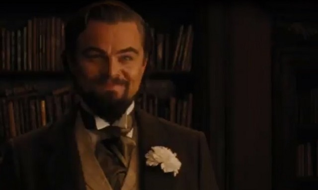"Леонардо Ди Каприо на съемках ""Джанго освобожденный"""