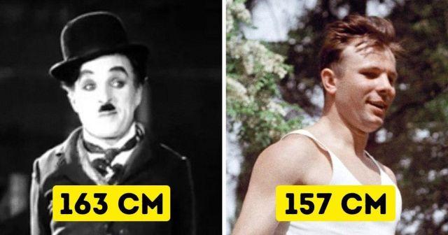 Чарли Чаплин и Юрий Гагарин