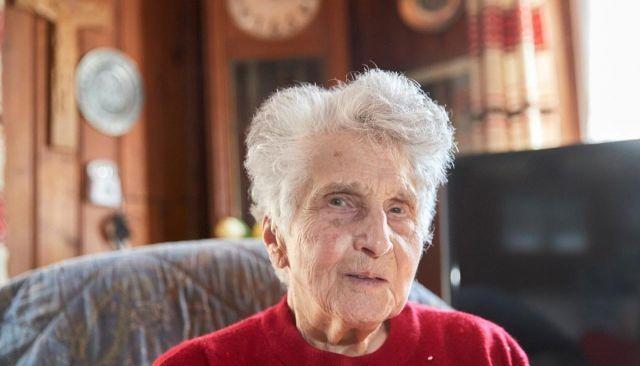 Пенсионерка из Швейцарии Гертруда Фаттон