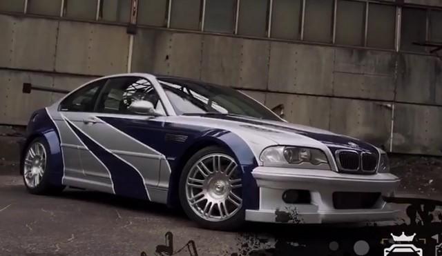 BMW из игры Need for Speed