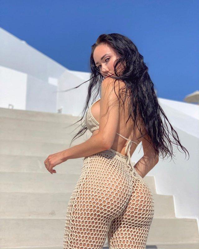 Instagram-модель из Белоруссии Нина Сереброва